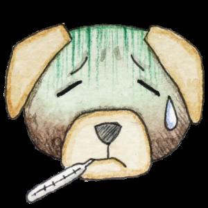 Hund_krank_transparenter-Hintergrund_Aram-und-Abra-300x300 Gesundes Hundefutter - was gehört da nicht rein?