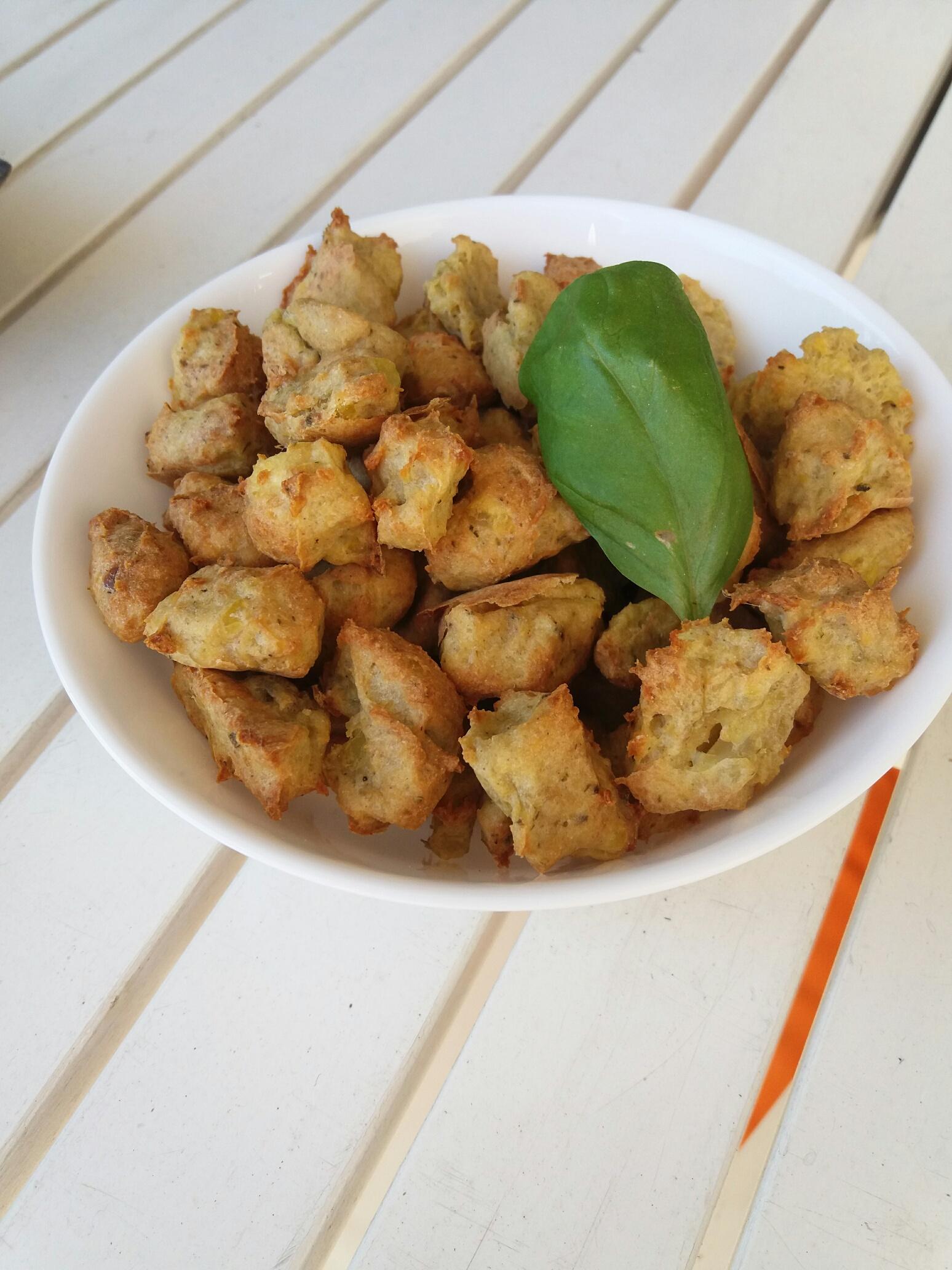 Kartoffel-Hühner-Kekse