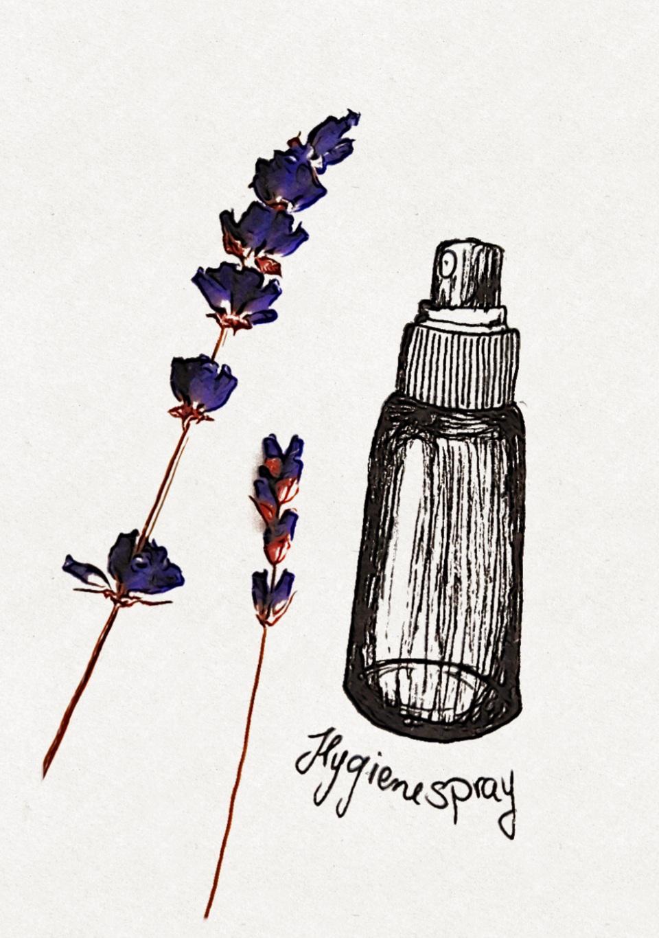 Hygienespray Lavendel