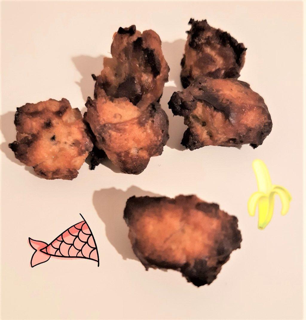Lachs-Bananen Kekse